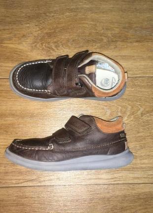 Деми ботинки clarks, р-р 12