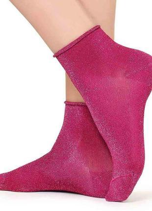 Итальянские носочки с глиттером calzedonia