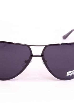 Мужские солнцезащитные очки matrix polarized с черной линзой3
