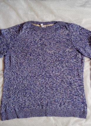 Вязанный свитер женский пестрый недорого 2х размера от croft&barrow