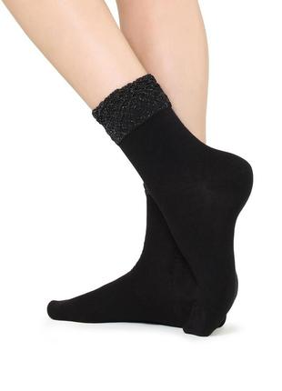 Итальянские носочки с блестящим элементом calzedonia