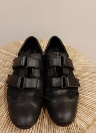 Туфли.кроссовки слипоны кожа gucci раз.40(26.5)