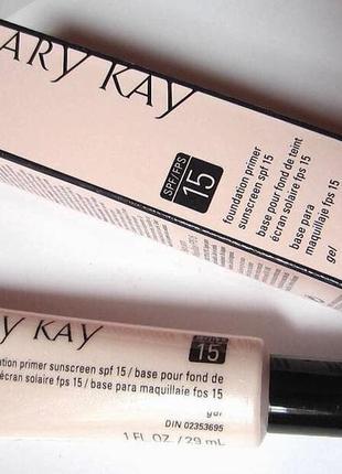 Выравнивающая основа под макияж spf 15 mary kay, мэри кэй, мери кей