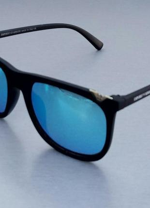 Очки мужские солнцезащитные зеркальные синие