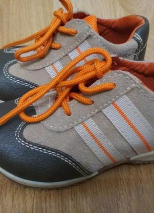 Ботинки  туфли 21р bobbi shoes італія