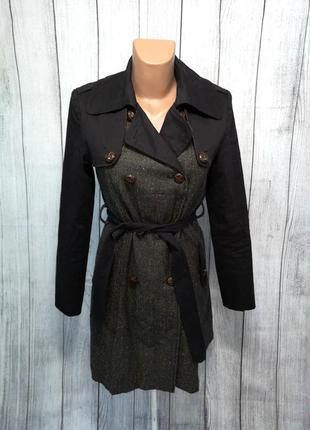 Пальто стильное, весеннее morgan, качественное, как новое!