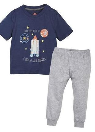 Пижама lupilu на мальчика 2-3 года