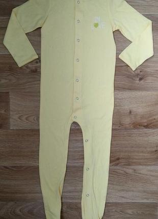 Пижама человечек на девочку 2-4 года. замеры есть. германия