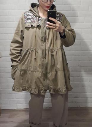 Бомба! шикарная стильная ветровка куртка simply be