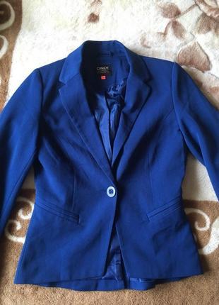 Пиджак, жакет синий