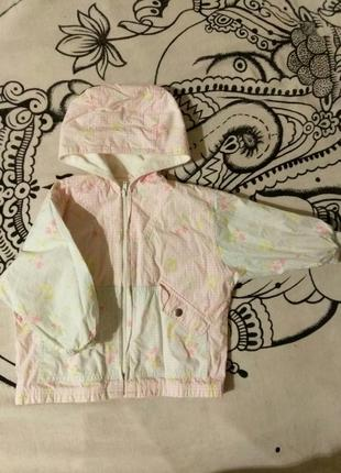 Фирменная куртка ветровка дождевик