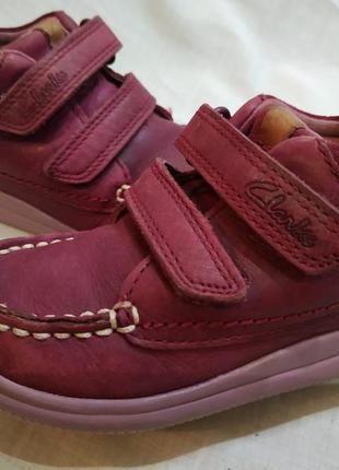 Кроссовки ботиночки clarks   на 22-22.5 размер
