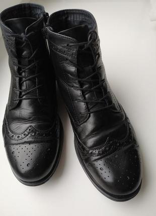 Фирменные кожаные ботинки от vagabond