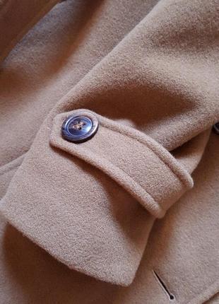 Кашемировое с шерсть virgin пальто, разм. 488 фото