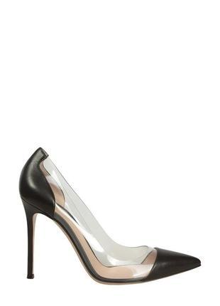 💣 идеальные туфельки лодочки  для золушки лак с прозрачными вставками красная подошва