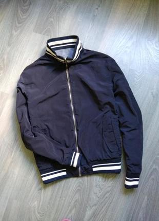 52l mcgregor бомбер двусторонний демисезонная куртка ветровка