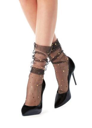 Носочки в звёздочки из последней fashion-коллекции calzedonia