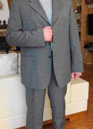 Gregory arber. классический мужской костюм. 52-54 размер.