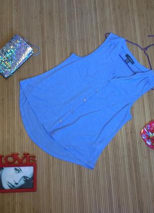 Лёгкая блуза из вискозы, размер l