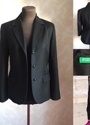 Удлинённый пиджак benetton