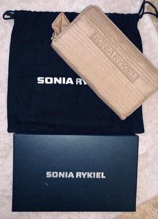 Продам или обменяю новый кошелёк sonia rykiel оригинал . полный комплект коробка , пыльник