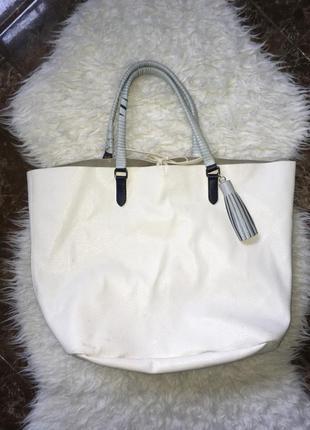 Большая сумка шоппер zara