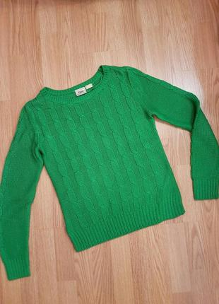 Яркий свитер размер s