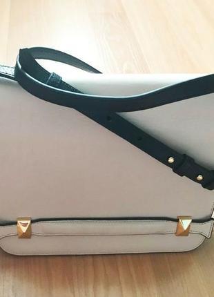 Bcbg max azria cross-body leather bag