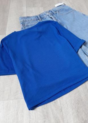 Новая  синяя футболка с тигром secret4 фото