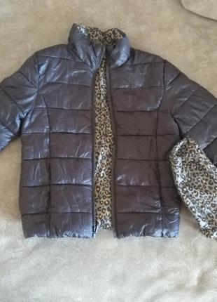 Двухсторонняя куртка kiabi