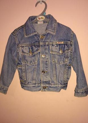 Джинсовая курточка джинсовка