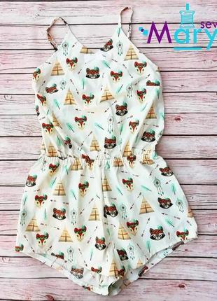 Комбидрес пижама