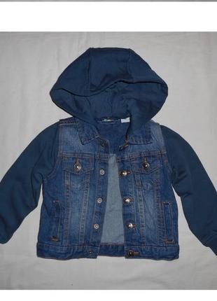 Джинсовая куртка lupilu р.98. германия.