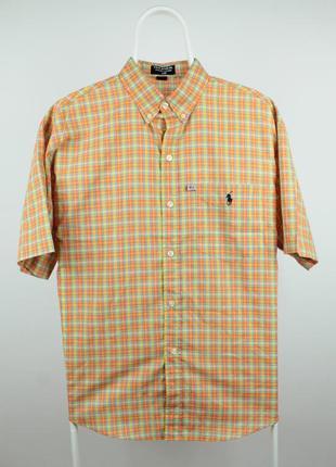Оригинальная рубашка ralph lauren vintage made in usa размер л