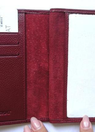 Документница для карт+ для паспорта,100% нат. кожа ската+телячья, есть доставка бесплатнo7