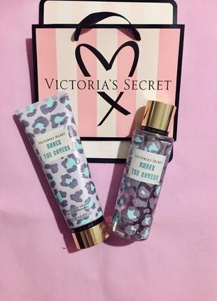 Набор мист и лосьон для тела under the covers victoria's secret виктория сикрет