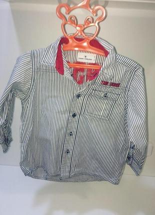 Рубашка на мальчика tom tailor