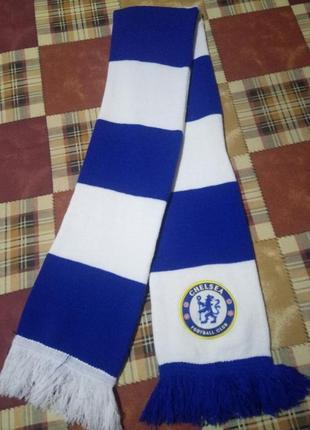 Футбольный шарф челси сhelsea