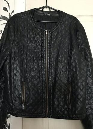 Куртка кожаная иск 48-50 select