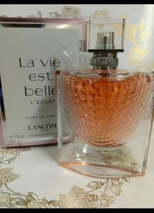 Парфюм lancome la vie est belle оригинал 75ml