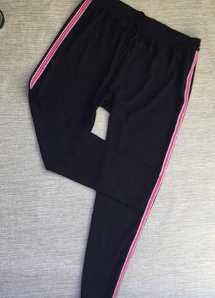 Повседневные брюки штаны с лампасамы