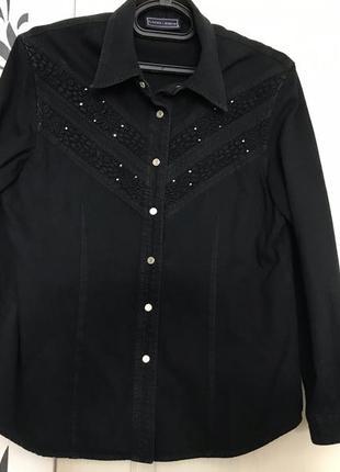 Рубашка джинсовая laffei shot 48p