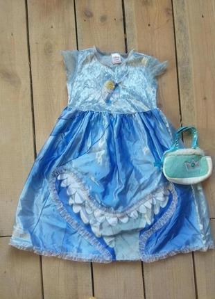 Карнавальное платье золушка 6-7 лет.