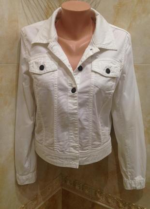 Джинсовая курточка пиджак жакет косуха