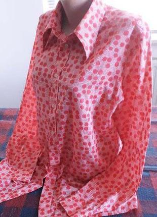Фирменная рубашка. италия.  48-50
