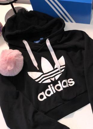 Женские худи Adidas 2019 - купить недорого вещи в интернет-магазине ... b1f803a5c8339