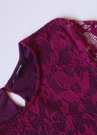 Нарядное бордовое платье george2 фото