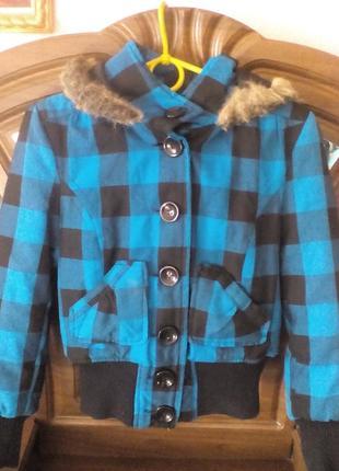 Демисезонная курточка для девочки на р146