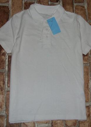 Новая футболка поло с биркой pepperts мальчику 9-10лет