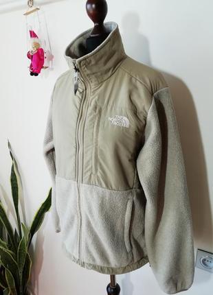 Тепленькая флисовая куртка the north face2